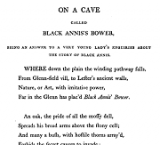 Ona Cave called Black Annis's Bower