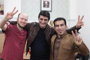 Khalaf Omed and Dale